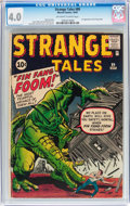Silver Age (1956-1969):Adventure, Strange Tales #89 (Marvel, 1961) CGC VG 4.0 Off-white to white pages....