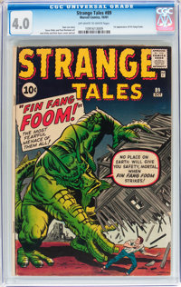 Strange Tales #89 (Marvel, 1961) CGC VG 4.0 Off-white to white pages