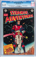 Golden Age (1938-1955):Science Fiction, Strange Adventures #9 (DC, 1951) CGC FN 6.0 Off-white to whitepages....