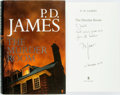 Books:Mystery & Detective Fiction, P. D. James. SIGNED. The Murder Room. London: Faber and Faber, [2003]. First edition. Signed by the author. Publ...