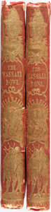 Books:Literature Pre-1900, Albert Smith. The Wassail-Bowl. London: Richard Bentley,1843. Two volumes. Original cloth bindings. Spines a bit so...(Total: 2 Items)