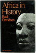 Books:World History, Basil Davidson. Africa in History. Themes and Outlines. [New York]: The Macmillan Company, [1969]. First American ed...