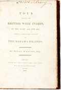 Books:World History, [Featured lot]. [Slavery]. Daniel McKinnen. A Tour through theBritish West Indies, in the Years 1802 and 1803, Giving a...