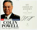 Books:Biography & Memoir, Colin Powell. SIGNED. My American Journey. New York: Random House, [1995]. First edition. Signed by the author on ...