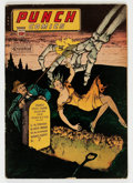 Golden Age (1938-1955):Crime, Punch Comics #13 (Chesler, 1945) Condition: VG....
