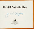 Books:Children's Books, James P. Blaylock. SIGNED/LIMITED. The Old Curiosity Shop.Royal Oak: A.S.A.P., 1999. First edition. Oblong octavo. ...