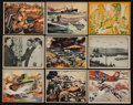 "Non-Sport Cards:Sets, 1939 R165 Gum Inc. ""War News Pictures"" Partial Set (76/144). ..."