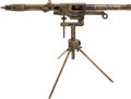 Long Guns:Muzzle loading, Rare London Charles Lancaster Percussion Trap Gun with Stand....