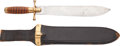 Edged Weapons:Knives, Indian Wars/US Army Hospital Corps Knife with Scabbard....