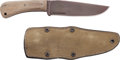 Edged Weapons:Knives, Boxed Winkler Field Knife with Sheath....