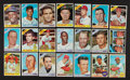 Baseball Cards:Autographs, Signed 1966 and 1968 Topps Baseball Card Collection (21). ...