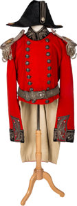 Militaria:Uniforms, British City of London Lord Lieutenant's Coatee, Epaulettes,Baldic, and Fore-and-Aft Hat.... (Total: 2 Items)