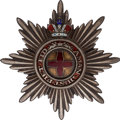 Militaria:Insignia, Russian Order of St. Anne Breast Star with Crown....
