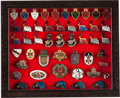 Military & Patriotic:WWI, Large Lot WWI Austrian Patriotic and Regimental Pins....