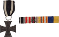 Military & Patriotic:WWI, WWI German Iron Cross 2nd Class, Award Document and Ribbon Bar....