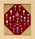 Military & Patriotic:WWI, Lot of 19 Beautiful European Miniature Orders and Medals....