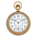 Timepieces:Pocket (post 1900), Waltham 24-Hour Model 845 Pocket Watch. ...