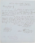 Autographs:Military Figures, Confederate General Order No. 17 Fair Copy....