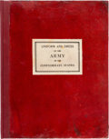 Military & Patriotic:Civil War, [Confederate Imprint] Uniforms and Dress of the Army of the Confederate States....