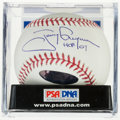 "Baseball Collectibles:Balls, Tony Gwynn ""HOF 07"" Single Signed Baseball, PSA Gem Mint 10. ..."
