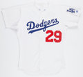 Baseball Collectibles:Uniforms, 2001 Adrian Beltre Game Worn Los Angeles Dodgers Jersey. ...