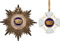 Militaria:Insignia, Italian Order of the Crown Breast Star and Commander....