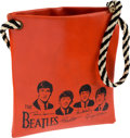 Music Memorabilia:Memorabilia, Beatles Red Vinyl Handbag, circa 1964....