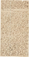 Autographs:Military Figures, Confederate Letter from Mississippi....