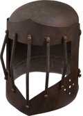 Militaria:Helmets, Contemporary 16th Century Style Barred Helmet....