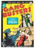 Golden Age (1938-1955):Crime, Gang Busters #1 (DC, 1947) Condition: VG-....