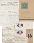 Miscellaneous:Ephemera, Confederate Veteran Group,...
