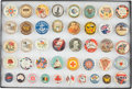 Military & Patriotic:WWI, Lot of 42 WWI Australian Patriotic Pinback Buttons....