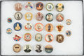 Military & Patriotic:WWI, Lot of 28 WWI ANZAC Patriotic Pinback Buttons....