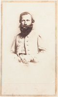 "Photography:CDVs, Confederate Major General James Ewell Brown ""Jeb"" Stuart Carte de Visite...."