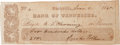 Autographs:U.S. Presidents, First Lady Sarah Polk: Signed Check....