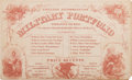 Miscellaneous:Ephemera, Letter Writing Kit Sold by Union Sutlers....