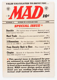 Mad #12 (EC, 1954) Condition: VG/FN