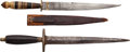 Edged Weapons:Knives, Lot of Two Edged Weapons.... (Total: 2 Items)