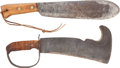 Edged Weapons:Knives, Lot of Two U.S. Fighting Knives.... (Total: 2 Items)