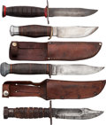 Edged Weapons:Knives, Lot of Four Knives.... (Total: 4 Items)