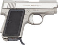 Handguns:Semiautomatic Pistol, AMT Model Back Up Semi-Automatic Pistol....