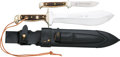 Edged Weapons:Knives, Boxed and Cased Pair of Puma Knives....