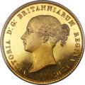 Great Britain, Great Britain: Victoria gold Proof 'Una and the Lion' 5 Pounds 1839PR64 Deep Cameo PCGS,...