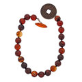 Estate Jewelry:Necklaces, Agate, Silver Necklace. ...