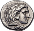 Ancients:Greek, Ancients: MACEDONIAN KINGDOM. Alexander III the Great (336-323 BC).AR tetradrachm (27mm, 16.97 gm, 12h). ...