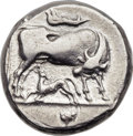 Ancients:Greek, Ancients: ILLYRIAN KINGDOM. Monounios (ca. 300-275 BC). AR stater(21mm, 10.47 gm, 12h). ...