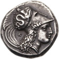 Ancients:Greek, Ancients: LUCANIA. Heracleia. Ca. 330-325 BC. AR stater (22mm, 7.71 gm, 8h). ...