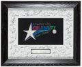 Miscellaneous Collectibles:General, 2001 Atlantic City Celebrity Kids' Classic Multi SignedPresentational Piece....