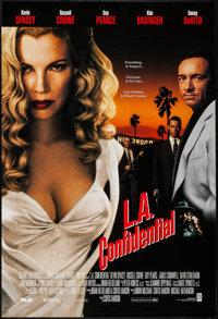 "L.A. Confidential (Warner Brothers, 1997). One Sheet & Video Poster (27"" X 40"") DS Review Style & SS..."