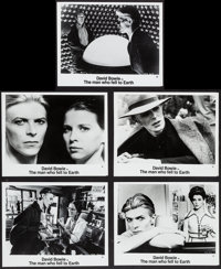 """The Man Who Fell to Earth (Cinema 5, 1976). Photos (10) (8"""" X 10""""). Science Fiction. ... (Total: 10 Items)"""